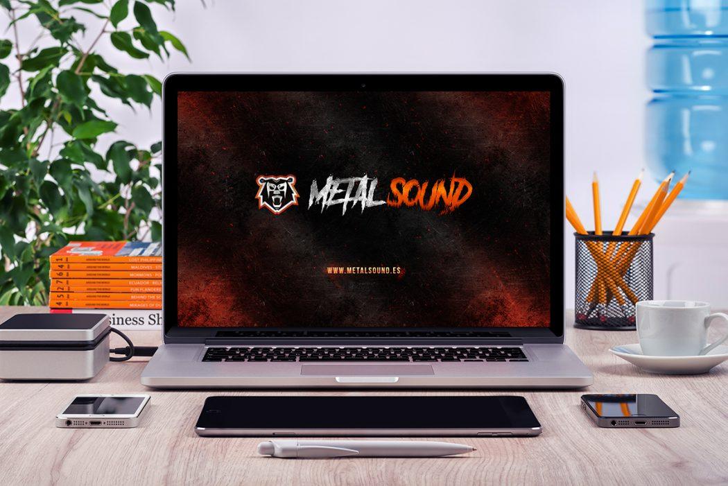 Metal Sound · Imagen Corporativa V2