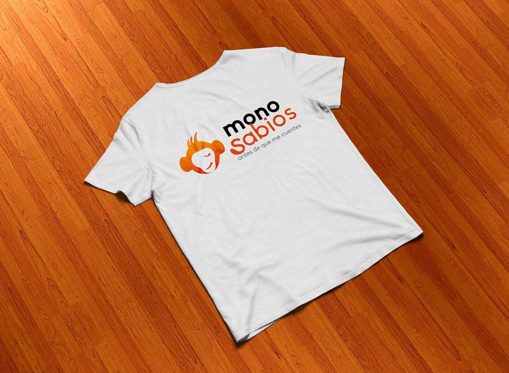 Monosabios - Camiseta