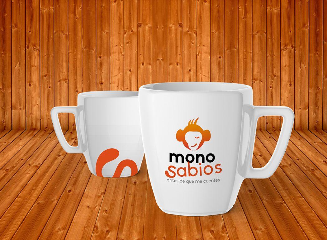 Monosabios - Taza Corporativa