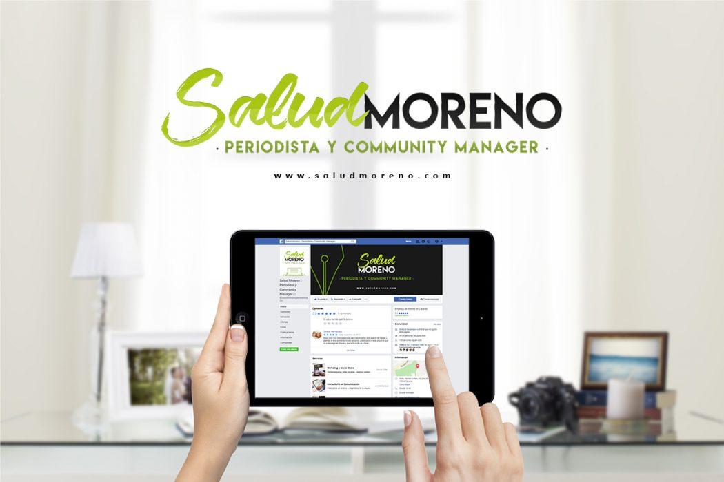 Salud Moreno - Aplicación de la marca a Redes Sociales