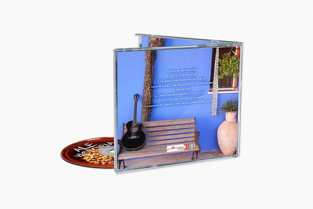 Música de Potaje - Inlay exterior y Galleta