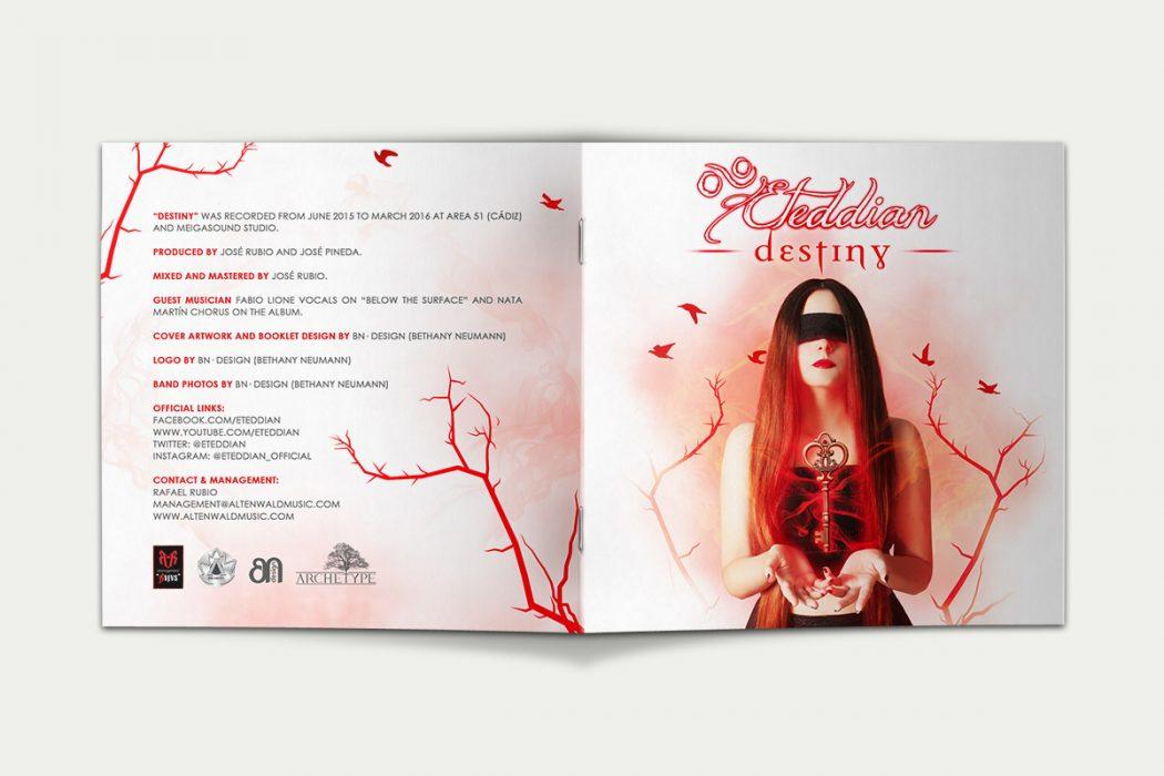 Destiny-Digipack · Booklet Exterior
