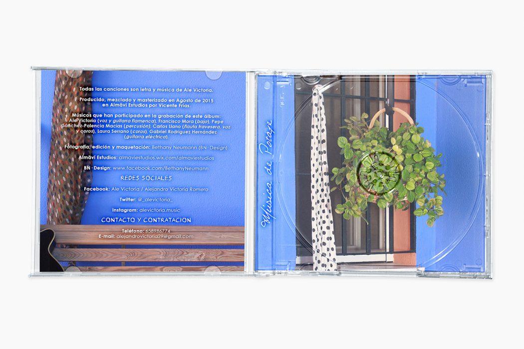 Música de Potaje - Libreto ult. pag. e Inlay Interior