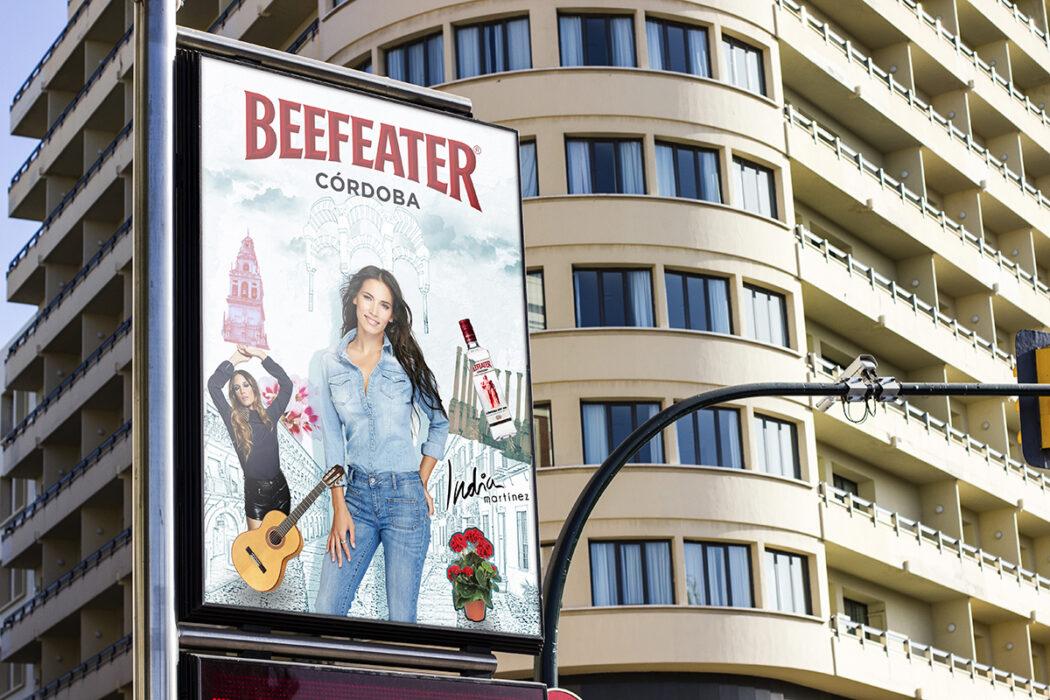 Beefeater · Mupi