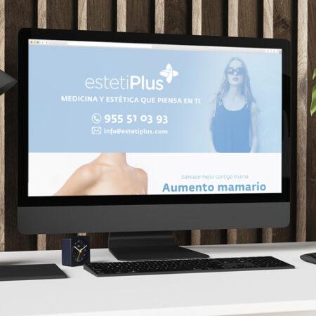 estetiPlus - Landing Page